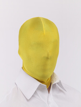 Anime Costumes AF-S2-321218 Halloween Yellow Unicolor Unisex Lycra Spandex Hoods