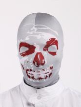 Anime Costumes AF-S2-327648 Halloween Horrible Multi Color Skull Pattern Unisex Lycra Spandex Hoods