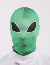 Anime Costumes AF-S2-327644 Halloween Multi Color Alien Pattern Lycra Hoods