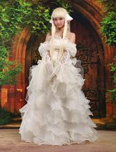 Faschingskostüm Schönes Chic von Chii Chobits Cosplay Kostüm