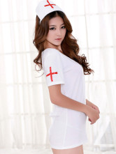 Anime Costumes AF-S2-336366 Halloween Cut Out Backless Sexy Nurse Costume
