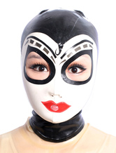 Anime Costumes AF-S2-343626 Halloween Multi Color Open Eyes Latex Hoods