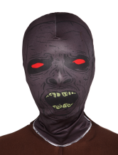 Anime Costumes AF-S2-342664 Halloween Multi Color Red Eyes Zombie Unisex Lycra Spandex Hoods