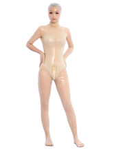 Anime Costumes AF-S2-343616 Halloween Sexy Transparent Latex Bodysuit Opened Eyes Unisex Zentai Suit