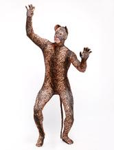 Anime Costumes AF-S2-348866 Halloween Trendy Lycra Spandex Leopard Print Open Eyes Unisex Sweet Lycra Animal Zentai Suits