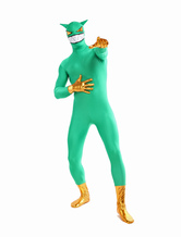 Anime Costumes AF-S2-348874 Halloween Vivid Green Demon Full Bodysuit Lycra Spandex  Zentai Suits Costume Cosplay
