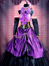 Anime Costumes AF-S2-355432 Vocaloid Megurine Luka Halloween Cosplay Costume