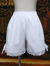 Lolita Baumwolle in Weiß