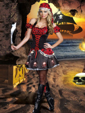 Anime Costumes AF-S2-365903 Women's Sexy Pirate Halloween Costume