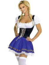Anime Costumes AF-S2-365991 Beer Garden Girl Halloween Costumes