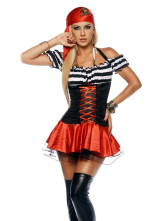 Anime Costumes AF-S2-365907 Halloween Quality Fantasy Skeleton Costume