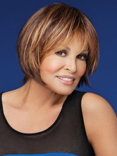 Brown Straight Beautiful Short Wig For Woman