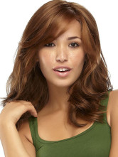 Anime Costumes AF-S2-366641 Brown Synthetic Sexy Medium Wig