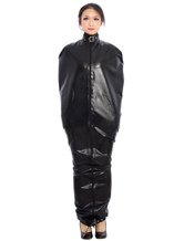 Anime Costumes AF-S2-375233 Halloween Special Buckle Black Latex Catsuit