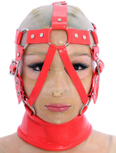 Anime Costumes AF-S2-375253 Halloween Ravel Red Unique Latex Choker