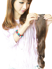 Anime Costumes AF-S2-379561 Light Brown Synthetic Long Curly Charming Hair Extensions
