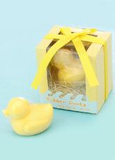 Jabón de tocador en forma de pato