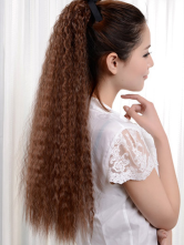 Anime Costumes AF-S2-412667 Tousled Long Light Brown Kanekalon Horse-tail