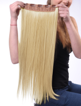 Anime Costumes AF-S2-412641 Tousled Long Flaxen Heat-resistant Fiber Extension