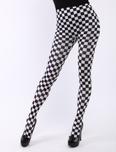 Anime Costumes AF-S2-414739 Halloween Checkered Sexy Zentai Skinny Pants