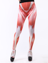 Anime Costumes AF-S2-414737 Halloween Flesh Zentai Skinny Pants