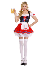 Anime Costumes AF-S2-416449 Halloween Classic Beer Girl Costume