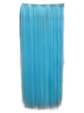 Anime Costumes AF-S2-424057 Tousled Long Light Sky Blue Heat-resistant Fiber Extension