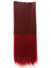 Anime Costumes AF-S2-423645 Tousled Ombre Straight Heat-resistant Hair Extension