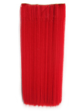 Anime Costumes AF-S2-424043 Red Long Heat-resistant Fiber Straight Extension