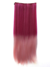 Anime Costumes AF-S2-424011 Ombre Lovely Long Heat-resistant Fiber Straight Extension