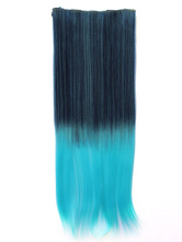 Anime Costumes AF-S2-424091 Tousled Long Ombre Blue Heat-resistant Fiber Extension