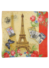 20-Piece Butterfly Print Specialty Paper Wedding Napkins