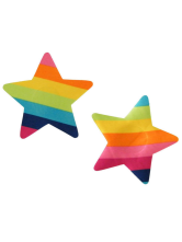 Star Pattern Candy Color Pasties