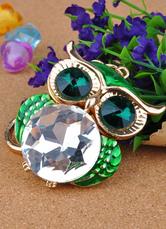 Vivid Owl Metal Keychain for Wedding