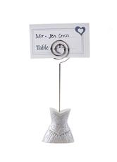 Elegant Metal Wedding Card Holder