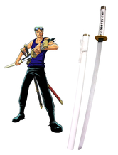 Anime Costumes AF-S2-445877 One Piece Roronoa Zoro Three Sword Style Weapon
