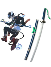 Anime Costumes AF-S2-445939 Blue Exorcist Okumura Ring Demon-slaying Blade Kurikara Cosplay Weapon