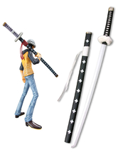 Anime Costumes AF-S2-445879 One Piece Trafalgar Law White Sword Cosplay Weapon