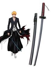 Anime Costumes AF-S2-445929 Bleach Ichigo Kurosaki Zanpakutou Tensa Zangetsu Cosplay Weapon