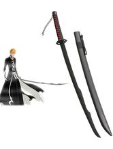 Anime Costumes AF-S2-445909 Bleach Ichigo Kurosaki Zanpakutou Tensa Zangetsu Mugetsu Cosplay Weapon