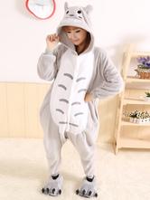 Traje de Kigurumi doce Totoro cinza