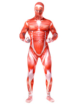 Anime Costumes AF-S2-458383 Flesh Lycra Spandex Unisex Monster Multicolor Zentai Jumpsuit Halloween cosplay costume