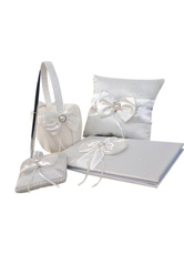 Wedding Collection Set with White Ribbon