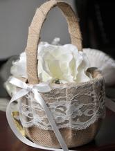 High Quality Sweet Flower Girl Basket