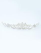 Moda jóias de cabelo de Metal strass para casamento