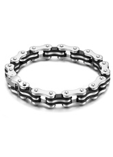 Machine Shaping Layered Stainless Steel Stylish Bracelet for Men