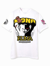 Anime Costumes AF-S2-467237 White MONOKUMA Anime T-Shirts