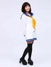 Anime Costumes AF-S2-475113 Kantai Collection Kancolle Cosplay Costume Sailor Uniform Seifuku Girl Cosplay Costume