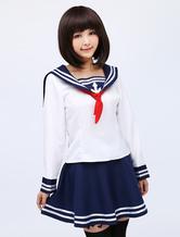 Anime Costumes AF-S2-475111 Kantai Collection Kancolle Cosplay Costume Sailor Seifuku Girl Cosplay Costume