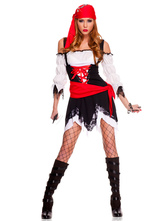 Anime Costumes AF-S2-480879 Halloween Woman's Pirate Costume